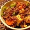 Tatar tofu ja juurviljadega