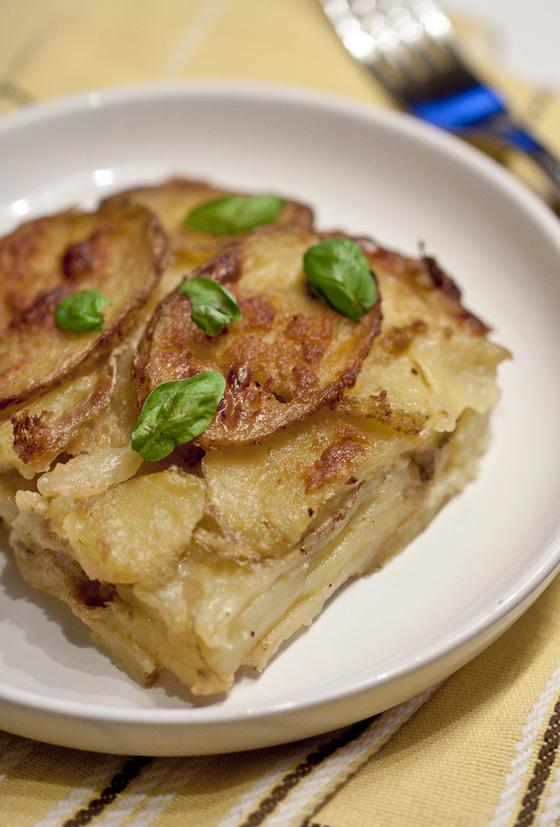 Kreemjas kartulivorm küüslauguga