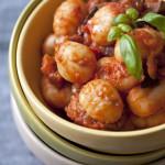 Gnocchi baklažaani-tomatikastmes