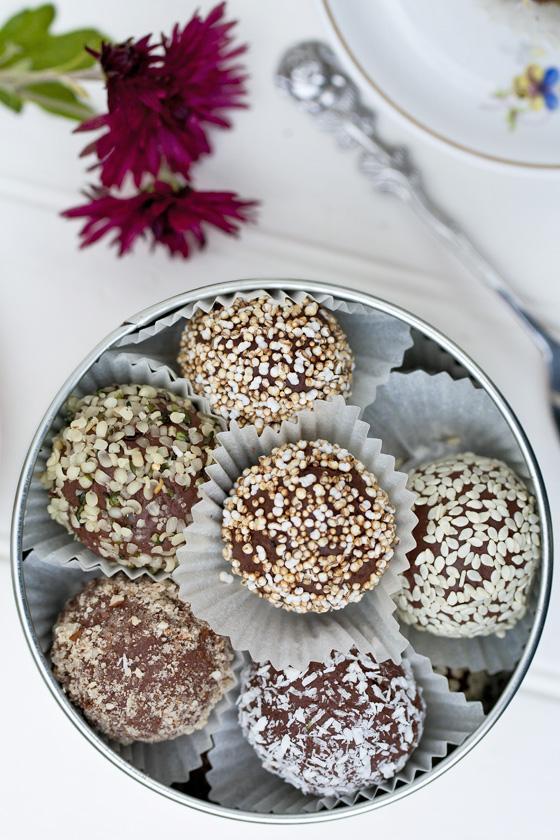 Õiglase kaubanduse šokolaaditrühvlid